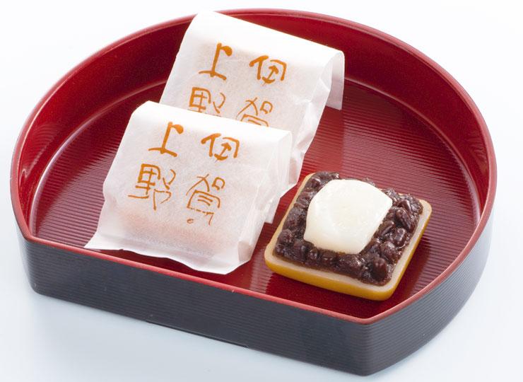 餅入り最中 伊賀上野